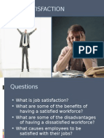 Ppt on Job Satisfaction