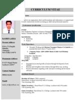 Kashif Resume
