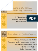 Quality in the Clinical Microbiology Laboratory