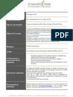 Convocatoria Ayudas al Máster Ética y Democracia [2011-2012]