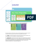 Streets India Operating Model
