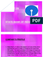 ppt on STATE BANK OF INDIA