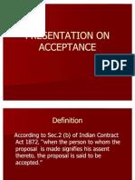 Acceptance Law