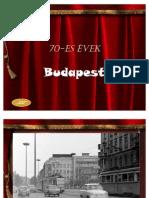 70-es évek Budapest