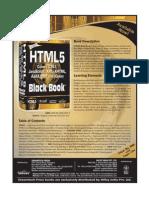 HTML 5 Black Book