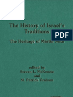 JSOT the History of Israel's Traditions