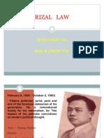 Process of Rizal Law