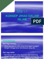BAB 1.7 Konsep Jihad Dalam Islam
