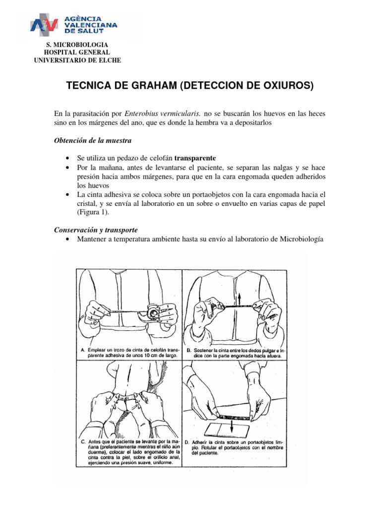 Oxiuros tecnica de graham - Vaccin papillomavirus homme effets secondaires