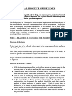 Project Guidelines Final Format