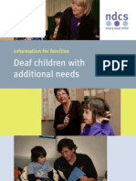Deaf Children With Additional Needs#1
