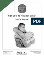 CBP_LPU-40FlotationUserManual