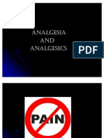 Analgesia and Analgesics