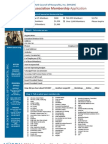 2011 Association Membership Renewal App