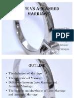 Love vs Arranged Marriage-2