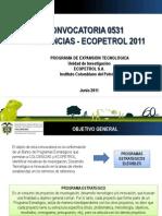 Presentacion CV Colciencias Ecopetrol 2011 (2)