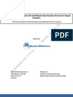 NOIA- and API- commissioned study of economic benefits tied to offshore oil and gas activity