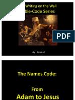 Bible Names Code Acrostic Long