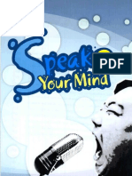 Speak Your Mind 2