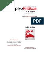 Txostenak Lapiko Kritikoa