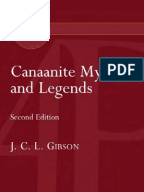 Canaanite Myths And Legends John C. L. Gibson