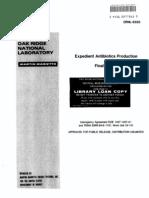 Expedient Antibiotics Production
