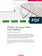 Plastic Conveyor Belts