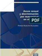 Acoso Sexual y Discriminacion Por ad en El Trabajo