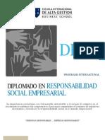 Diplomado en Responsabilidad Social Empresarial_2011