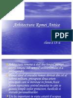Arhitectura Romei Antice