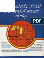 "Sun City West AZ Marketing Brochure - 1978-1980 - ""Standard of the World in Resort Retirement Living"""