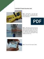 How to - Tooless Keystone