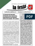Su La Testa- Giugno 2011 (n.6)