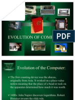 Evolution of Computers