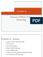 Sources of Short-Term Financing