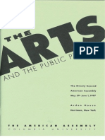 Arts and Public Purpose Report