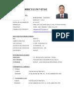 Curriculum - Robes Pierre -Piura