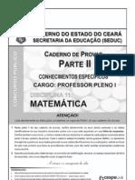 Prova acesso à profissão docente - matemática