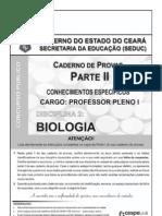 Prova de acesso à profissão docente - Biologia
