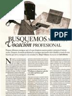 La Vocacion Profesiona - Borja VIlaseca