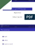 requests, czyli HTTP dla ludzi