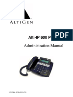 Alti-IP 600 Manual