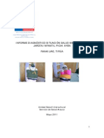 Informe Diagnóstico Situación Salud Mental niños Jardín infantil Pichi Ayen, Rankilwe, Tirúa