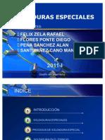 SOLDADURAS ESPECIALES
