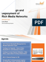 Wireless LAN Design and Deployment of Rich Media Networks