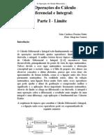 Calculo Diferencial e Integral_ Parte I - Limite)