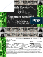 Economic Indicators Week of July 8th 2011