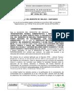 Resolucion de Adjudicacion-proceso Meritos