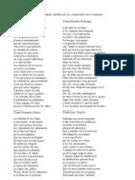 Una recopilación de tangos antiguos cantados por los componentes de la compars