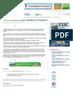 Water Treatment Plant Vandalized in Hamilton   LoudounTimes